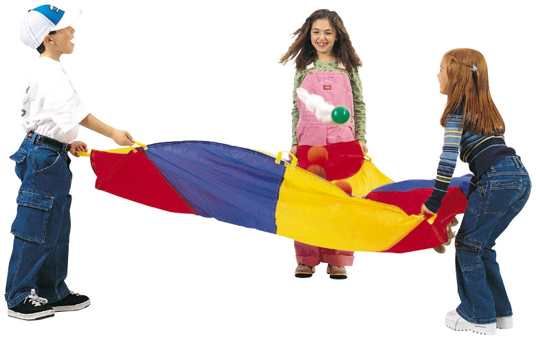 Pacific Play Tents 6 Foot Parachute w/Handles and carry bag