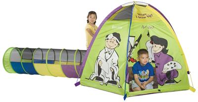 Pacific Play Tents When I Grow Up Play Tent & Tunnel