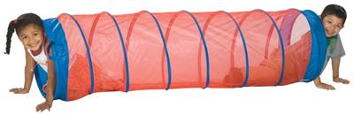 Pacific Play Tents The Fun Tube Play Tunnel - (red)