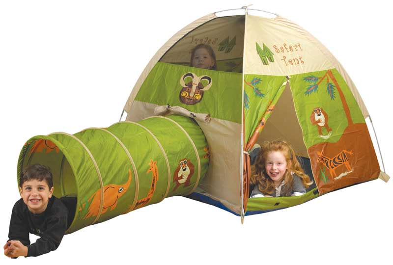 Pacific Play Tents Jungle Safari Play Tent & Tunnel