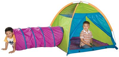Pacific Play Tents Play w/Me Play Tent & Tunnel
