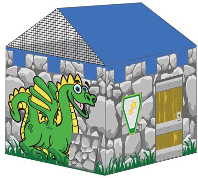 Pacific Play Tents Dragon Lair Play House Tent