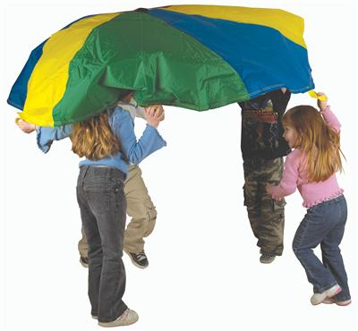 Pacific Play Tents 45'' Parachute w/no Handles w/Carry Bag