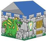 Dragon Lair Play House Tent